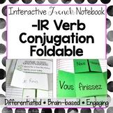 Regular French -IR Verb Conjugation Foldable - French Inte