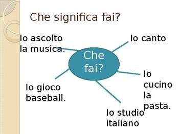 -IRE verbs in italian