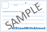 #IStandWithAhmed Lesson Materials - Twitter Template & Text-Dependent Questions