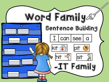 -IT Word Family Sentence Building