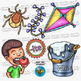 """-ITE"" Word Family Clip Art 