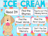"""Ice Cream"" Poem of the Week Flipchart for ActivInspire"