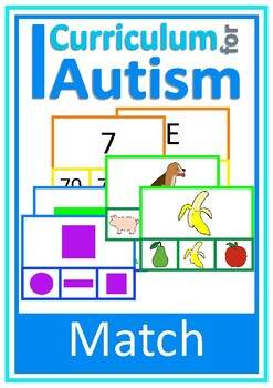 Basic Concepts Matching, Autism, Special Education, Speech Therapy