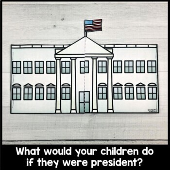 """If I Were President"" - Presidents' Day Writing Activity"