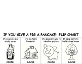 """""""If You Give a Pig a Pancake"""" Cause and Effect Flipbook"""