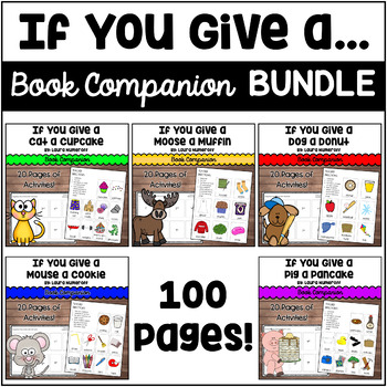 """If You Give a"" books by Laura Numeroff... BUNDLE"