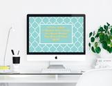 """If You Want..."" Desktop Wallpaper"