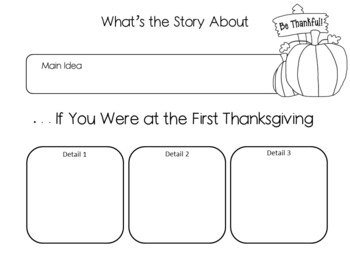 . . . If You Were at the First Thanksgiving~ 37 pgs. Common Core Activities