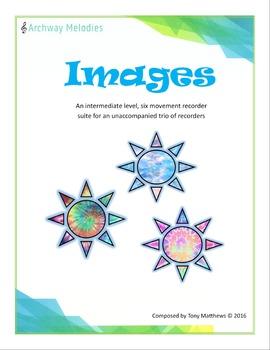 """Images"" for Unaccompanied Recorder Trio"