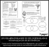 (Immersion) Haudenosaunee/Algonquien Première Nation Activité et Évaluation
