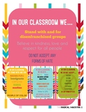 """""""In OUR classroom we..."""""""