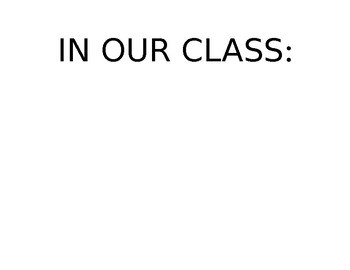"""""""In Our Class"""""""