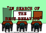 """""""In Search of the Best Behavior"""" Lesson Booklet and Assessment"""