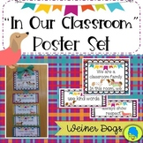 """""""In This Classroom"""" Classroom Family Posters/Weiner Dogs/ Dachshund/Board Decor"""