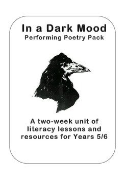 'In a Dark Mood' Poetry Planning Year 5 and 6 (4th/5th Grade)