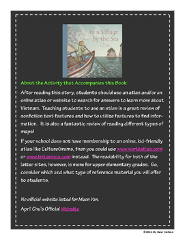 """""""In a Village by the Sea"""" - GA Picture Book Award Nominee"""