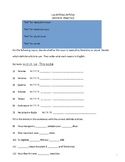 (In)definite Articles Practice Packet