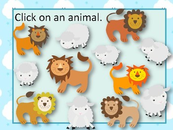 """""""In like a lion, Out like a lamb"""" March Melody Reading Game {sol mi}"""