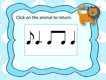 """""""In like a lion, Out like a lamb"""" March Rhythnm Reading Game {ti tom}"""