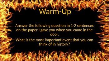 """In the Beginning"" Power Point Presentation"