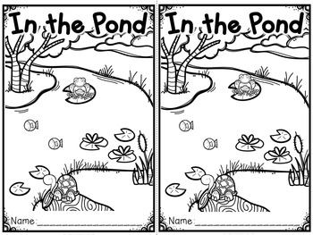 """""""In the Pond"""" (A Spring Emergent Reader Dollar Deal)"""