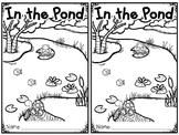 """In the Pond"" (A Spring Emergent Reader Dollar Deal)"