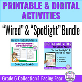 """""""In the Spotlight"""" & """"Wired"""" Digital & Printable Activitie"""
