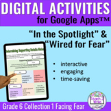 """""""In the Spotlight"""" & """"Wired...Fear"""" Digital Activities Col"""