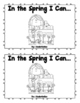 """In the Spring I can"" Sight Word Emergent Reader Mini Book"