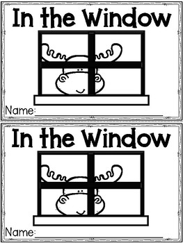 """""""In the Window"""" (Fall/October Emergent Reader Dollar Deal)"""