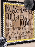 **Incase no one told you.. BULLETIN BOARD LETTERS PRINTABLE**