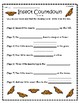 """Insect Countdown"" Guided Reading Program Work"