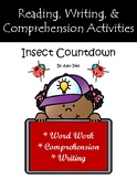 """""""Insect Countdown"""" Guided Reading Program Activities"""