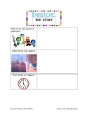 """""""'Inside' the Story"""" Graphic Organizer"""