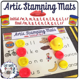 Artic Stamping Mats: Letter Stamping Dough Mats + Minimal Pairs