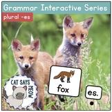 Plural Nouns -Es: Grammar Interactive Series