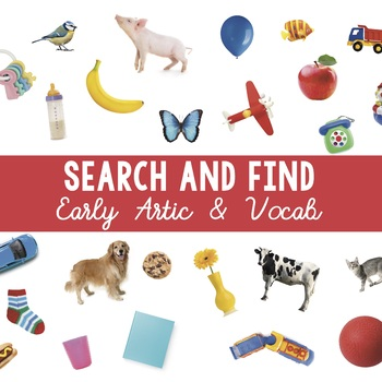 "Search and Find: Early Artic + Vocab (""I Spy"")"