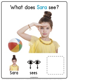 What Does Sara See? MLU Interactive Book