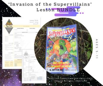'Invasion of the Supervillains' LESSON BUNDLE