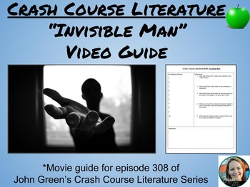 """Invisible Man"" Crash Course Literature Video Guide (Episode 308)"