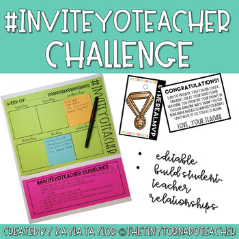 Back to School #InviteYoTeacher Challenge