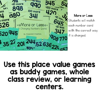 5 Place Value Games