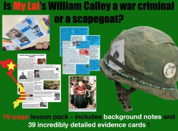 My Lai - war criminal or scapegoat? Evidence Sort