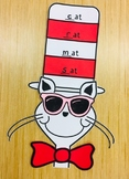 """It's Cool to Rhyme in School!""  Dr. Seuss Rhyming Craftivity"