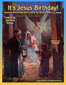 """""""It's Jesus' Birthday!"""" Activity Book"""
