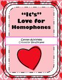 """""""It's"""" Love for Homophones"""