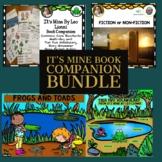 It's Mine  book companion bundle includes 3 Boom Card Decks