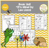 """It's Mine!"" by Leo Lionni  Book Unit"