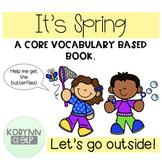 """It's Spring"" Language & Interactive Literacy Set - A Core"