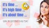 """""""It's time"""" + Unreal Past (Grammar mini-lesson)"""